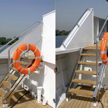 для яхт и катеров лестницы, перила, рейлинги из нержавеющей стали в Сочи